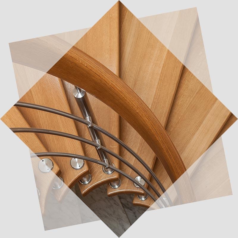 Réalisation d'escalier et autres aménagements intérieurs sur Génolhac